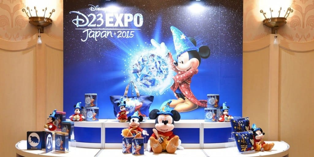 D23 Expo Japan 2018 Merchandise Details