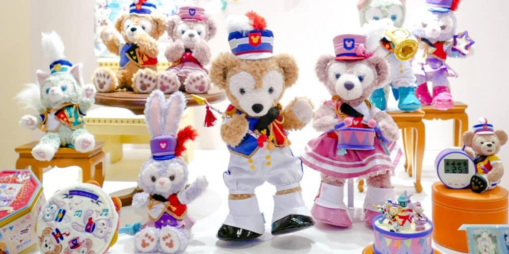 "Duffy and Friends Merchandise ""Happiest Celebration!"" for the 35th Anniversary"
