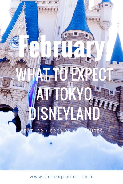 February Tokyo Disneyland DisneySea