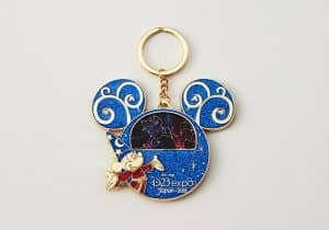 D23 Fantasia Mickey Keychain