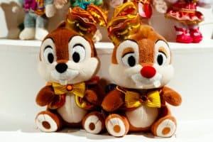 Large Chip n Dale Plush 35th Anniversary Tokyo Disneyland