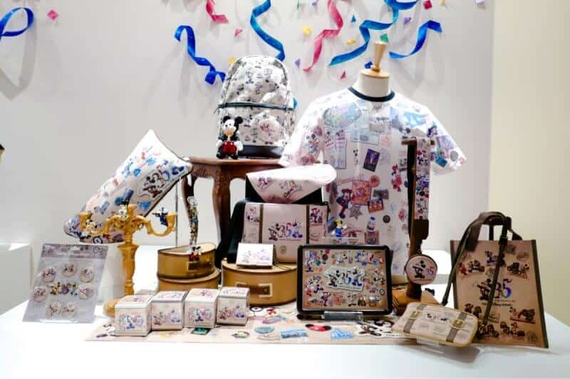 Mickey Mouse Themed Goods 35th Anniversary