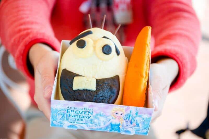 Olaf Bread Tokyo Disneyland