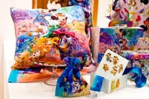 Pillow & Drawstring Bags 35th Anniversary Tokyo Disneyland