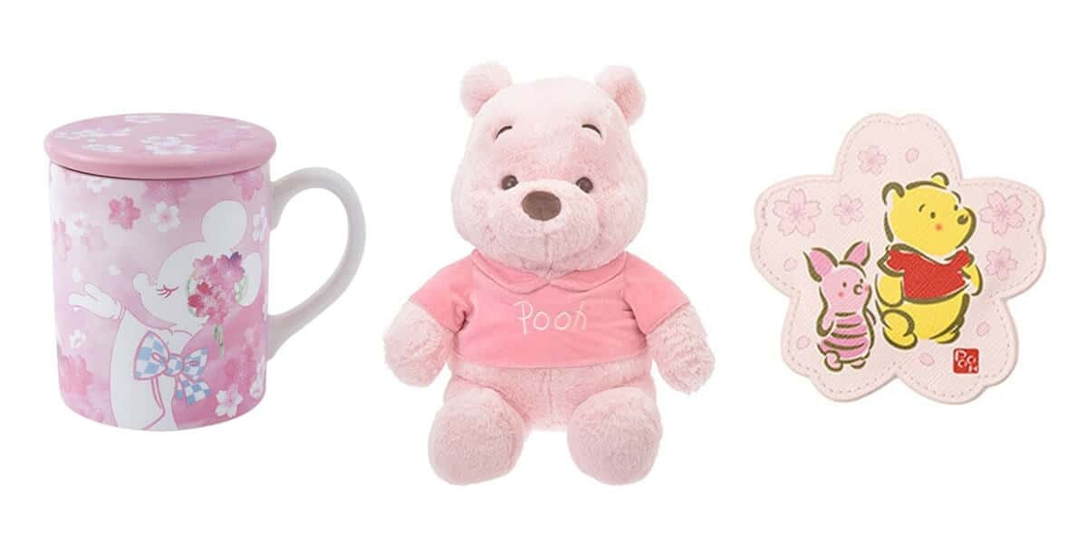 Cherry Blossom Pink Merchandise at Tokyo Disney Resort & Disney Store Japan