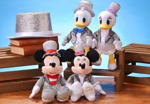 Mickey, Minnie, Donald and Daisy Plushes