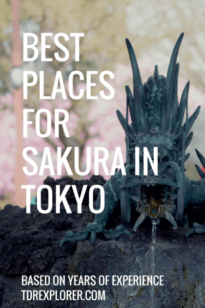 Best Places for Sakura in Tokyo Alt