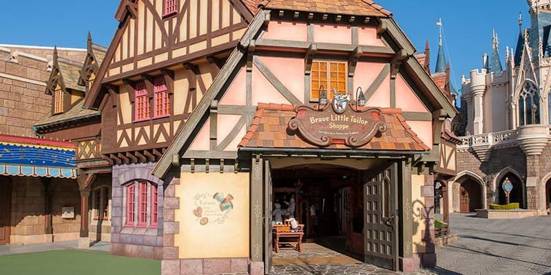 """Little Tailor Shoppe"" Baby Clothing Store Opens at Tokyo Disneyland"