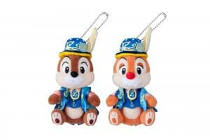 Chip and Dale Plush Badge Set