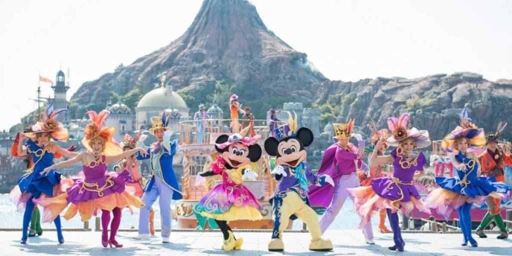 """Tokyo DisneySea """"Disney's Easter"""" Menu 2018"""
