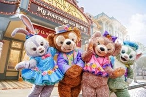 Duffy and Friends at Hong Kong Disneyland