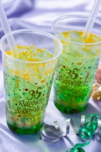Green Apple Soft Drink