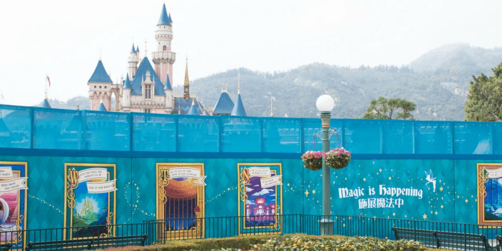 Hong Kong Disneyland Construction Update (Spring 2018)