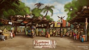 Karibuni Marketplace at Hong Kong Disneyland