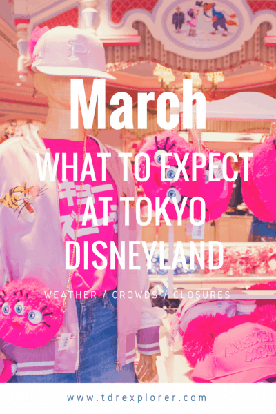 March Tokyo Disney Resort Pinterest