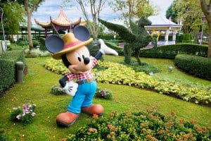 Disney Friends Springtime Garden at Hong Kong Disneyland