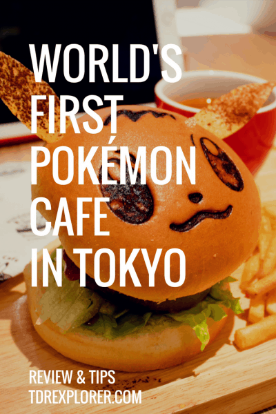 Pokemon Cafe Review Eevee Pinterest