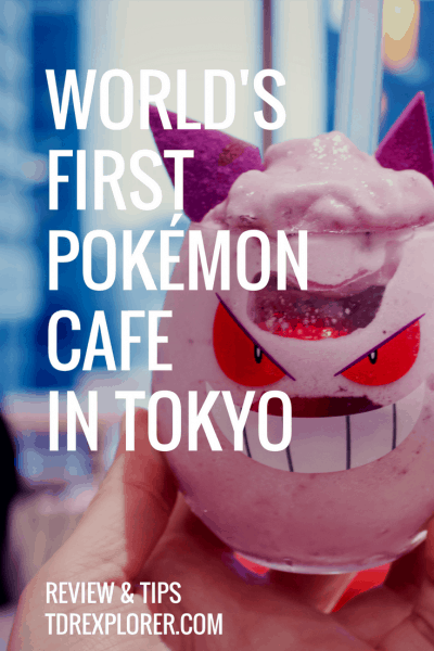 Pokemon Cafe Review Gengar Pinterest