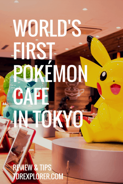 Pokemon Cafe Review Pikachu Pinterest
