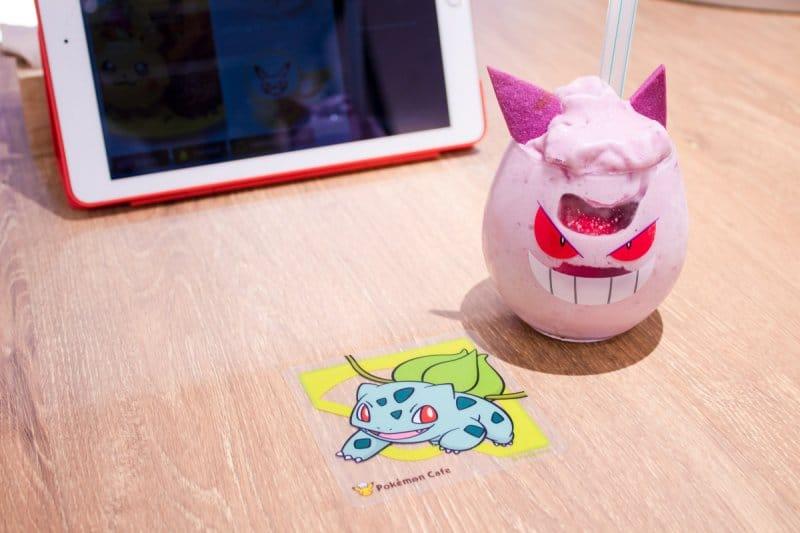 Pokemon Cafe Tokyo Coaster