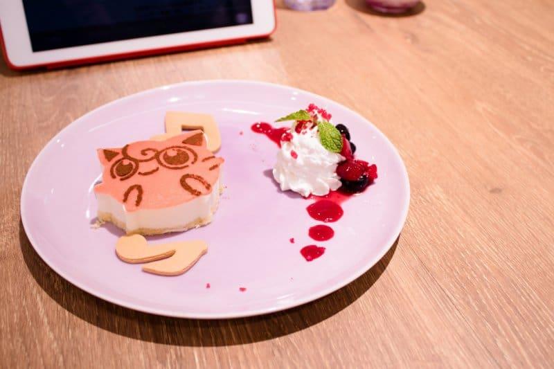 Pokemon Cafe Tokyo Jigglypuff Cheesecake