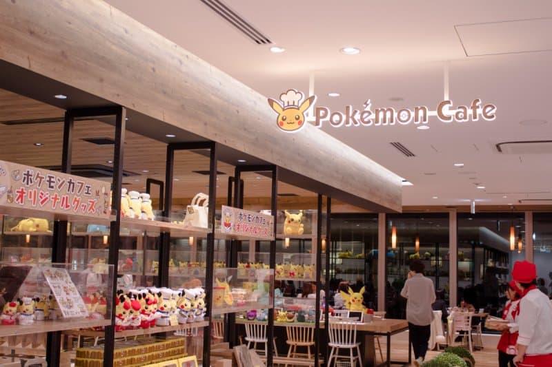Pokemon Cafe Tokyo Merchandise