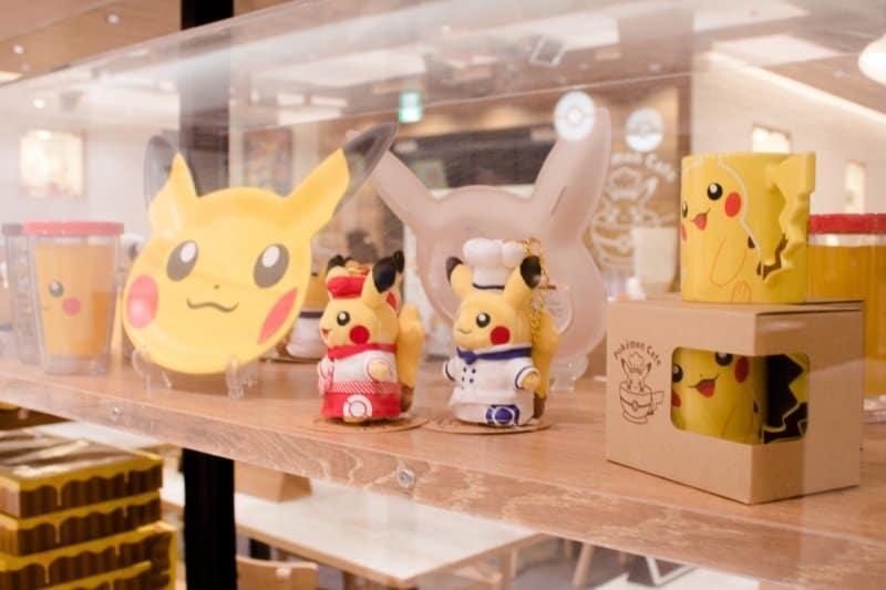 Pokemon Cafe Tokyo Merchandise Close
