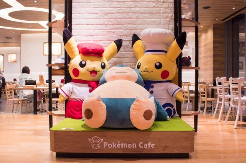 Pokemon Cafe Tokyo Pikachu Decorations