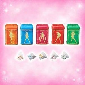 Sailor Moon 5 Tea Flavors Set at Universal Studios Japan