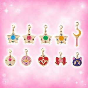 Sailor Moon Collectable Charms at Universal Studios Japan