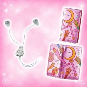Sailor Moon Ear Buds and Phone Case at Universal Studios Japan