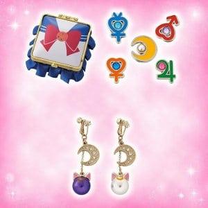 Sailor Moon Earrings at Universal Studios Japan