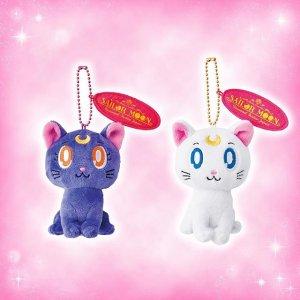 Sailor Moon Luna and Artemis Plush Badges at Universal Studios Japan