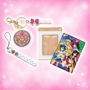 Sailor Moon Pass Case with Custom Tag at Universal Studios Japan