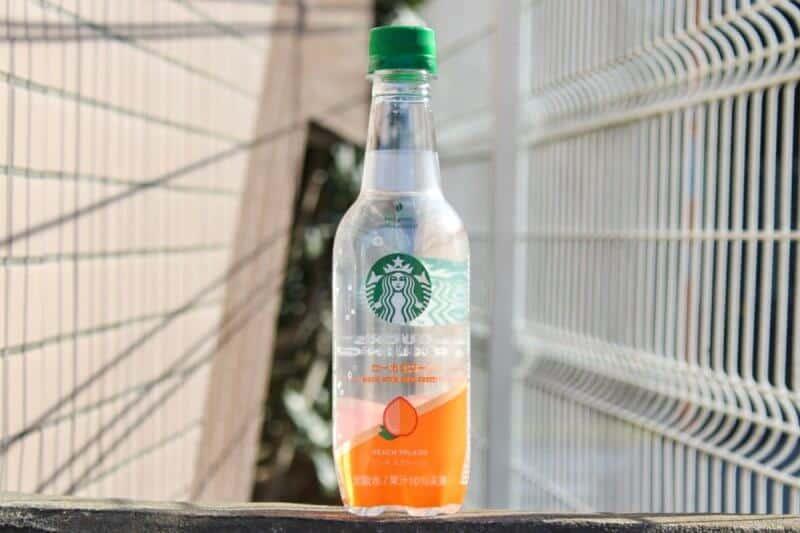 Starbucks Sparkling Water Japan Peach Splash