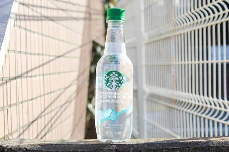 Starbucks Sparkling Water Japan Refreshing Taste