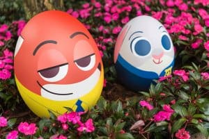 Zootopia Character Eggs at Hong Kong Disneyland