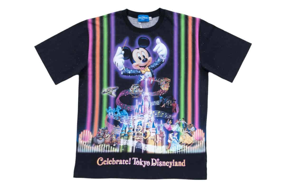 Celebrate Tokyo Disneyland Tshirt Tdr Explorer
