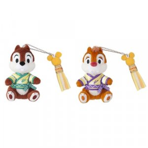 Chip & Dale Plush Badge Set