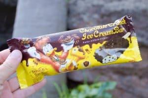 Chocolate Crunch Ice Cream Tokyo Disneyland