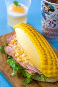 Corn on the Cob Shaped Sandwich Set