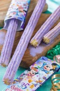 Cotton Candy Churro