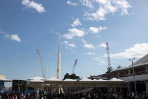 Cranes from Tomorrowland Tokyo Disneyland