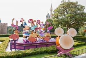 Disney Natsu Matsuri Photo Location 2
