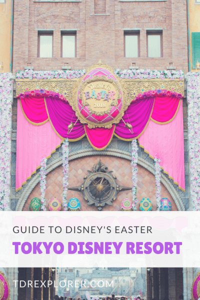 Disney's Easter Tokyo Disney Resort Pinterest Decorations