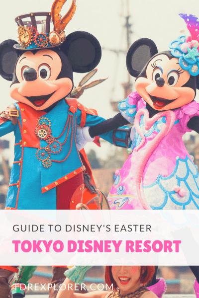 Disney's Easter Tokyo Disney Resort Pinterest Show