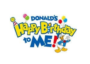 Donald's Happy Birthday to Me at Tokyo Disney Resort