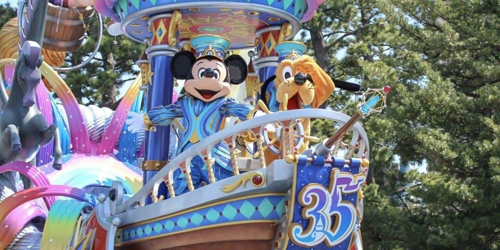 """PHOTOS: New Tokyo Disneyland Parade """"Dreaming Up!"""""""