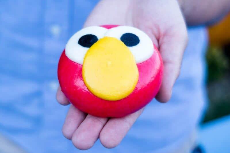 Elmo Steamed Bun