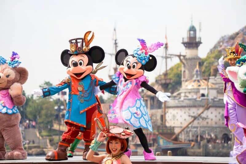 Fashionable Easter 2018 Tokyo DisneySea